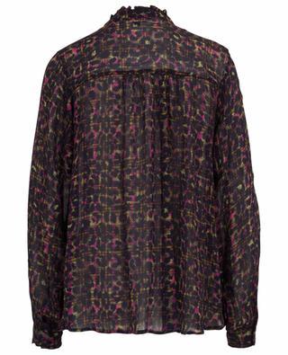 Bluse aus Viskose mit Print Check and Leo PRINCESS
