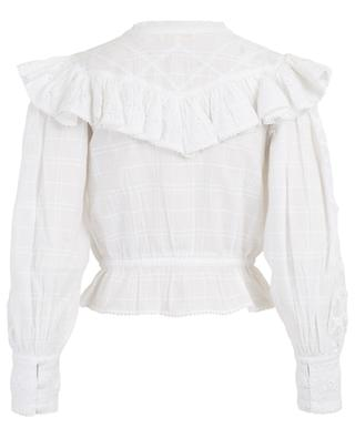 Susanne embroidered cotton top LOVESHACKFANCY