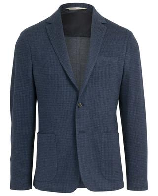 Print cotton and wool blazer MAURIZIO BALDASSARI