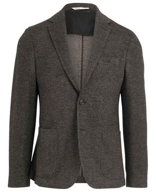 Wool and cotton print blazer MAURIZIO BALDASSARI