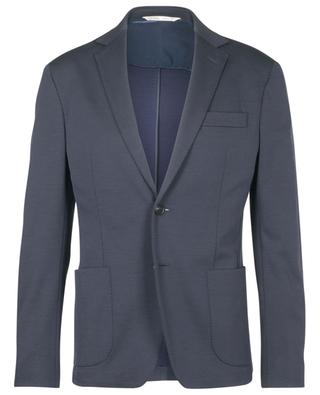 Single-breasted virgin wool blend blazer MAURIZIO BALDASSARI