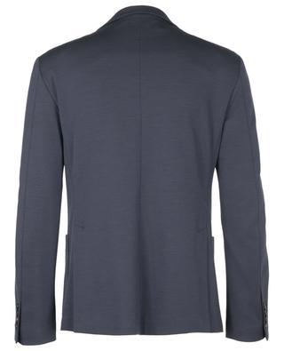 Single-breasted virgin wool blend blazer MAURIZIO BALDASSARI