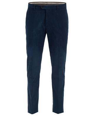 Pantalon droit en velours côtelé MAURIZIO BALDASSARI