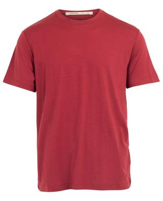 T-Shirt aus Schurwolle mit Rundhalsausschnitt MAURIZIO BALDASSARI