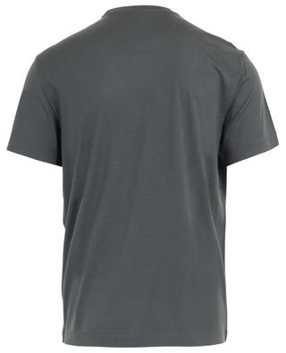 Virgin wool round neck T-shirt MAURIZIO BALDASSARI