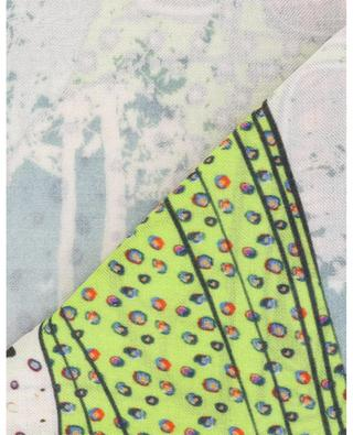 Libre scarf with flowery car print STORIATIPIC