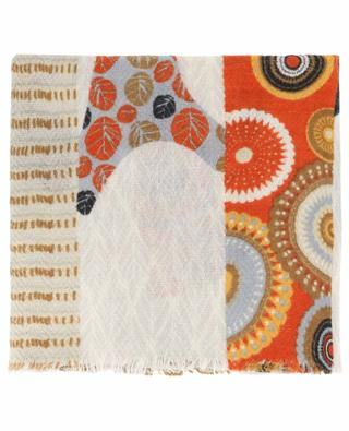 Schal mit Print aus Wolle und Seide Boisée STORIATIPIC