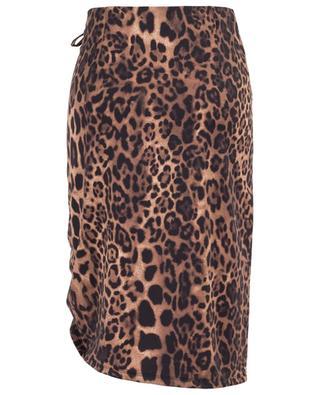 Jupe courte stretch imprimée léopard Winnie SEDUCTIVE