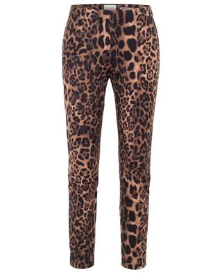 Sabrina leopard print stretch trousers SEDUCTIVE