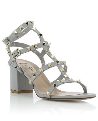 Sandalen aus nietenbesetztem Leder Rockstud VALENTINO