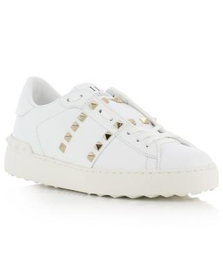 Baskets en cuir cloutées Rockstud Untitled 11. VALENTINO