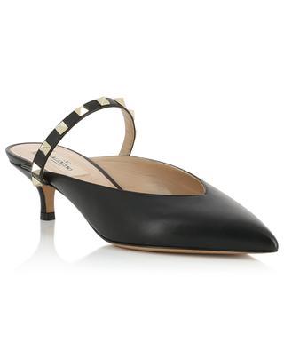 Rockstud 45 heeled leather mules VALENTINO