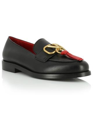 VRING leather loafers VALENTINO
