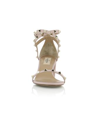 Rockstud grained leather sandals VALENTINO