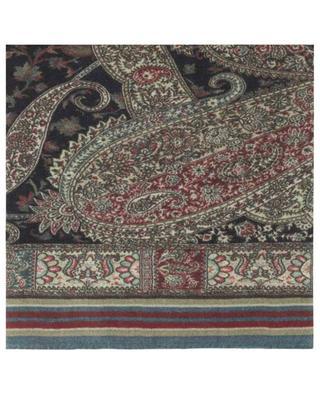 Halstuch aus Kaschmir und Seide mit Paisley-Print ETRO