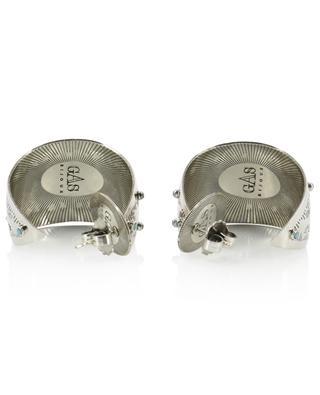 Silberne Ohrringe Galilee Cabochon GAS BIJOUX