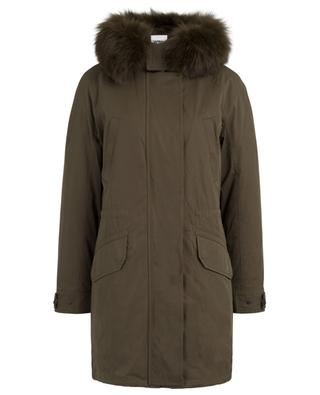 Hooded parka with fur Y SALOMON ARMY