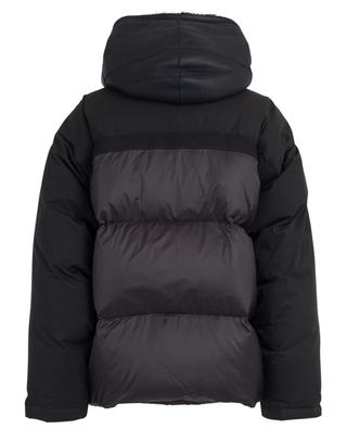 Bachette padded bomber jacket with lamb shearling detail Y SALOMON ARMY