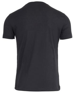 Feines T-shirt aus Schurwollmix PAOLO PECORA