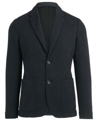 Cotton blend textured blazer PAOLO PECORA