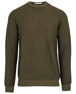 Pull col rond en laine vierge PAOLO PECORA