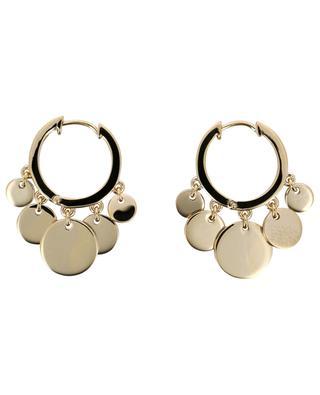 Confetti gold plated silver hoop earrings AVINAS