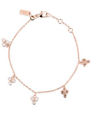 Triade pink gold plated silver bracelet AVINAS