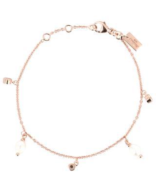 Bracelet en argent plaqué or rose Pearl AVINAS