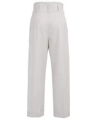 Wide-leg gabardine trousers BRUNELLO CUCINELLI
