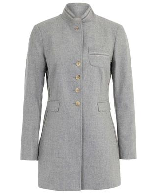 Bine long embroidered flannel blazer URSULA ONORATI
