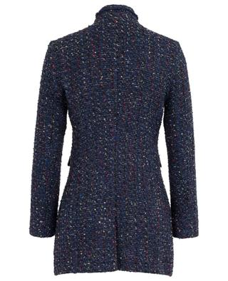Bine glittering long tweed blazer URSULA ONORATI