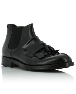 Polo used look leather ankle boots with tassels DOUCAL'S