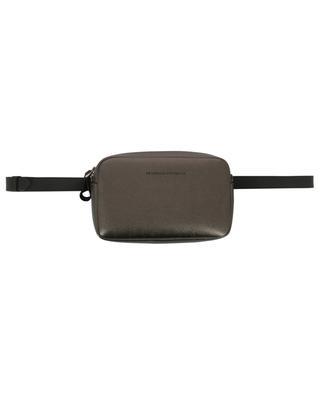Sac modulable ceinture ou épaule en cuir métallisé BRUNELLO CUCINELLI