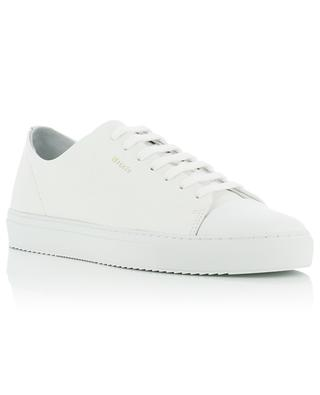 Cap-Toe white grained and smooth leather sneakers AXEL ARIGATO