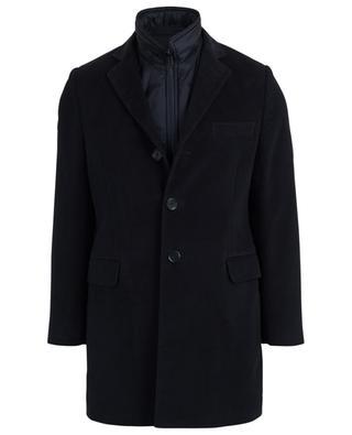 Mantel mit ärmelloser abnehmbarer Weste FAY