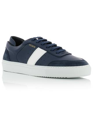 Dunk blue and white leather sneakers AXEL ARIGATO