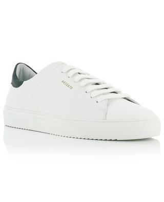 Sneakers aus weissem und dunkelgrünem Leder Clean 90 AXEL ARIGATO