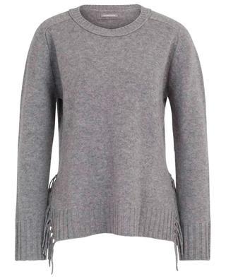 Pullover aus Wolle und Kaschmir mit Fransen HEMISPHERE