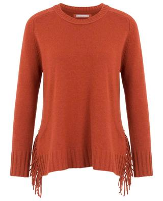 Fringed wool and cashmere jumper HEMISPHERE