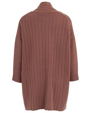 Oversized kimono spirit wool and cashmere cardigan HEMISPHERE