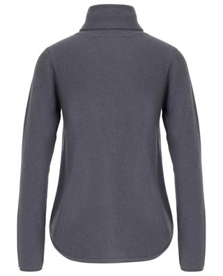 Cashmere turtleneck jumper with curved hem HEMISPHERE