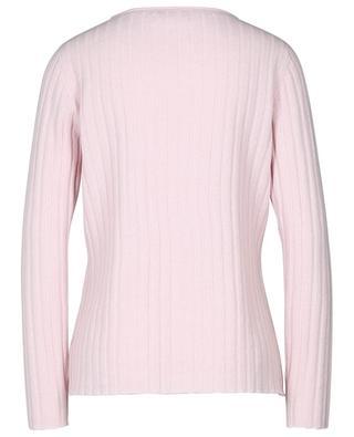 Rib knit cashmere sheath jumper HEMISPHERE