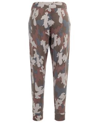 Camouflage print cashmere jogging trousers HEMISPHERE