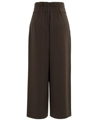 Moni wide paper bag waist trousers HEMISPHERE