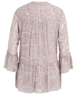 Bluse aus Viskose mit Print und Schoss Alea HEMISPHERE