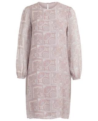 Kurzes Kleid aus Viskose mit Print Zulu HEMISPHERE