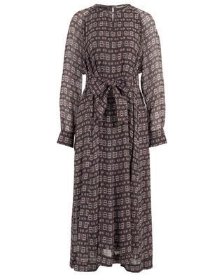 Langes Kleid mit Ethno-Print Zala HEMISPHERE