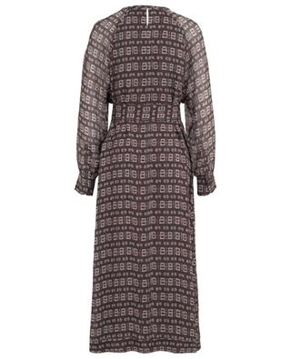 Zala ethno print long dress HEMISPHERE