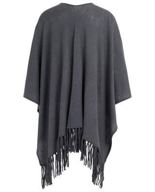 Poncho en laine avec franges Sape HEMISPHERE
