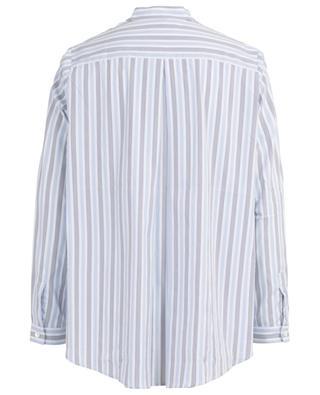 Ahida striped cotton blend shirt HEMISPHERE